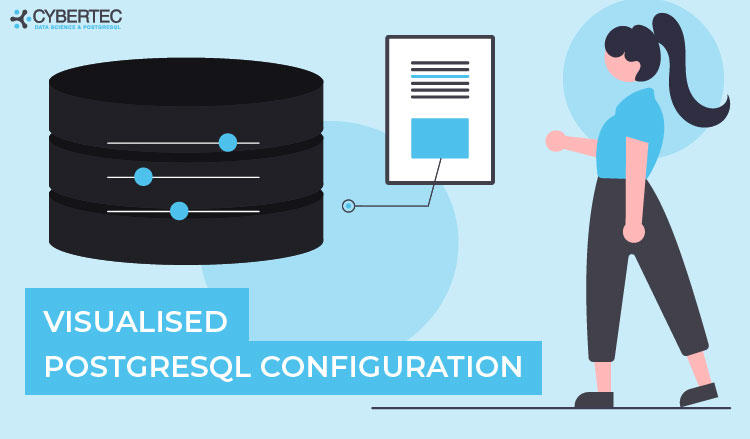 visualised postgresql configuration with pgconfigurator.