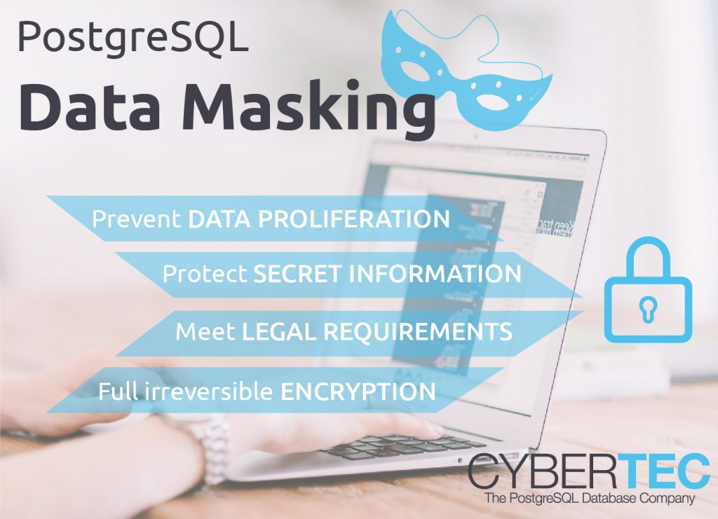Data Masking for PostgreSQL