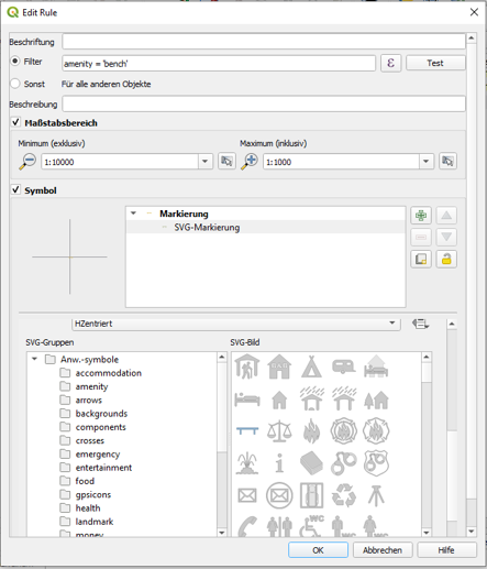 Visualizing OSM data in QGIS