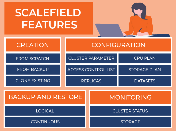 features of scalefield