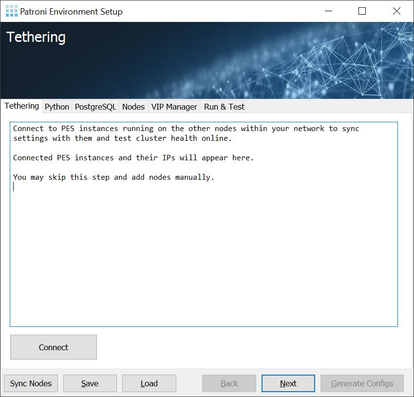 Patroni Environment Setup - High Availability for Windows: Init