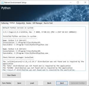 PES: Python