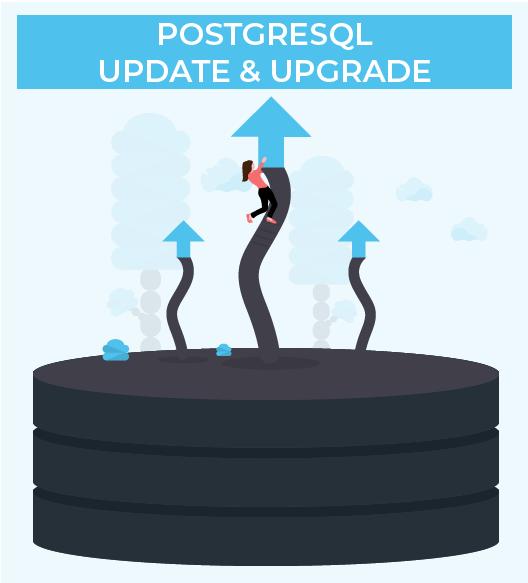 update and upgrade PostgreSQL