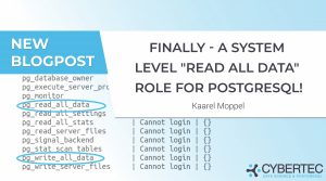 Finally - a system level read all data role for PostgreSQL