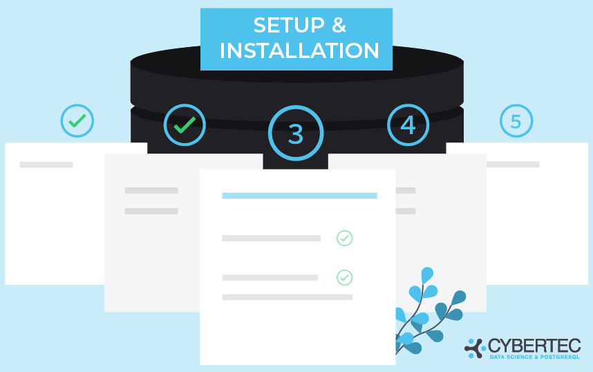 postgresql setup and installation service