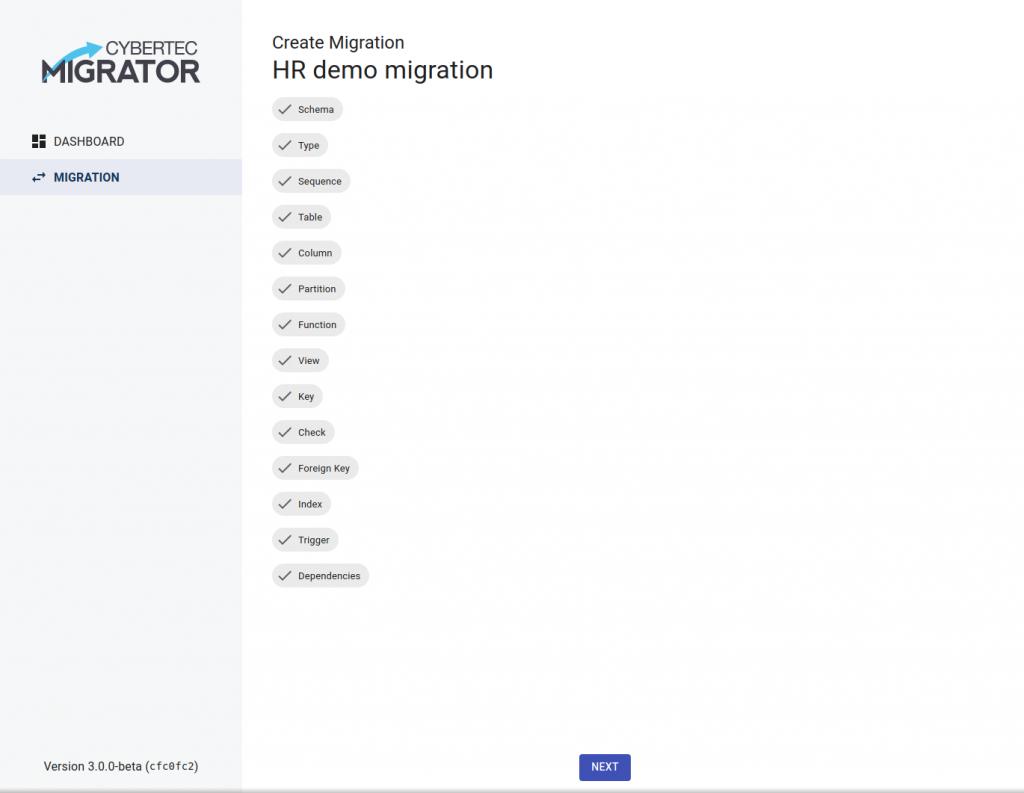 Create Migration-Reading Source Database Meta Data